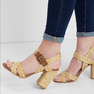 Shoes - Straw bag sandals